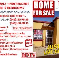 Foto de casa en venta en Villas del Real 2a Sección, Ensenada, Baja California, 4193922,  no 01