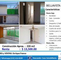 Foto de casa en renta en Bella Vista, Puebla, Puebla, 4427372,  no 01