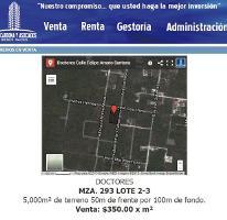 Foto de terreno habitacional en venta en  2, doctores ii, benito juárez, quintana roo, 2706760 No. 01