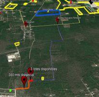 Foto de terreno habitacional en venta en Cholul, Mérida, Yucatán, 4572101,  no 01