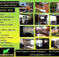 Foto de casa en renta en Club de Golf México, Tlalpan, Distrito Federal, 2918120,  no 01