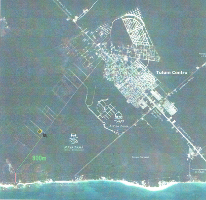 Foto de terreno habitacional en venta en 39 poniene, lote 1, manzana 237, zona 1 , tulum centro, tulum, quintana roo, 0 No. 01