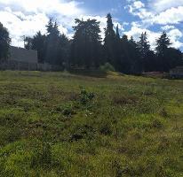 Foto de terreno habitacional en venta en San Miguel Ajusco, Tlalpan, Distrito Federal, 2817877,  no 01