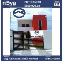 Foto de casa en venta en 5 3, potinaspak, tuxtla gutiérrez, chiapas, 2208480 no 01