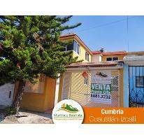 Foto de casa en venta en  5, cumbria, cuautitlán izcalli, méxico, 2841698 No. 01