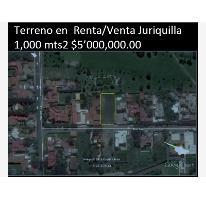 Foto de terreno habitacional en venta en  500, juriquilla, querétaro, querétaro, 2571645 No. 01