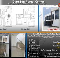 Foto de casa en venta en San Rafael Comac, San Andrés Cholula, Puebla, 2090841,  no 01