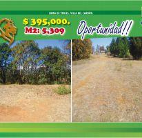 Foto de terreno habitacional en venta en Loma de Trojes, Villa del Carbón, México, 2470322,  no 01