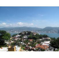 Foto de terreno habitacional en venta en escenica 8, base naval icacos, acapulco de juárez, guerrero, 1358391 no 01