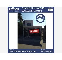 Foto de casa en venta en  9, natalia venegas, tuxtla gutiérrez, chiapas, 2553518 No. 01