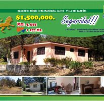 Foto de terreno habitacional en venta en Villa del Carbón, Villa del Carbón, México, 2469877,  no 01