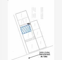 Foto de terreno habitacional en venta en a pasos de av coba, villas tulum, tulum, quintana roo, 521171 no 01