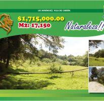 Foto de terreno habitacional en venta en Los Domínguez, Villa del Carbón, México, 2469992,  no 01