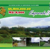 Foto de terreno habitacional en venta en Villa del Carbón, Villa del Carbón, México, 2469867,  no 01