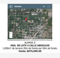 Foto de terreno habitacional en venta en abedules 4, álamos i, benito juárez, quintana roo, 1540882 no 01