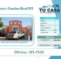 Foto de casa en venta en El Camino Real, La Paz, Baja California Sur, 1772808,  no 01
