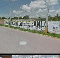 Foto de terreno habitacional en venta en  , acaxochitlán centro, acaxochitlán, hidalgo, 1926787 No. 01