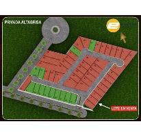 Foto de terreno habitacional en venta en  , altabrisa, mérida, yucatán, 2768217 No. 01