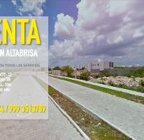 Foto de terreno habitacional en venta en  , altabrisa, mérida, yucatán, 4213137 No. 01