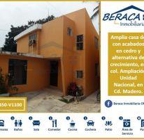 Foto de casa en venta en, ampliación unidad nacional, ciudad madero, tamaulipas, 2205298 no 01