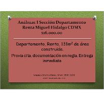 Foto de departamento en renta en, anahuac i sección, miguel hidalgo, df, 1874018 no 01