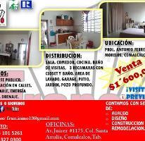 Foto de casa en venta en antonio ferrer 30, morelos, comalcalco, tabasco, 4316946 No. 01