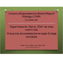 Foto de departamento en renta en, anzures, miguel hidalgo, df, 1993472 no 01