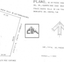 Foto de terreno habitacional en renta en, atasta, centro, tabasco, 564440 no 01