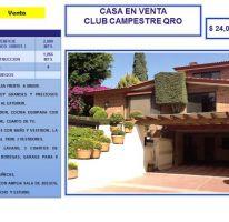 Foto de casa en venta en av principal frente a green, cerca a caballerizas, del valle, querétaro, querétaro, 754185 no 01