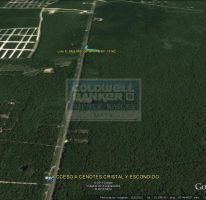 Foto de terreno habitacional en venta en ave tulum ote 913, tulum centro, tulum, quintana roo, 586847 no 01