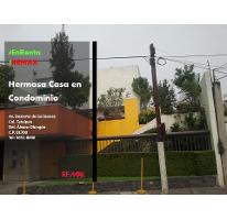 Foto de casa en condominio en renta en avenida desierto de los leones 2, tetelpan, álvaro obregón, distrito federal, 2652323 No. 01