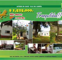 Foto de terreno habitacional en venta en Villa del Carbón, Villa del Carbón, México, 2469933,  no 01