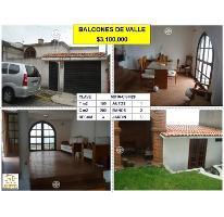 Foto de casa en venta en  , balcones del valle, tlalnepantla de baz, méxico, 2814371 No. 01