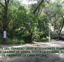 Foto de terreno habitacional en venta en bosque de chapultepec , las cañadas, zapopan, jalisco, 3043204 No. 01