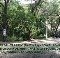 Foto de terreno habitacional en venta en bosque de chapultepec, lote 84, manzana 72 0, las cañadas, zapopan, jalisco, 2403676 No. 01