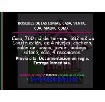 Foto de casa en venta en  , bosques de las lomas, cuajimalpa de morelos, distrito federal, 2896212 No. 01