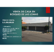 Foto de casa en venta en bosques de lima 26, bosques de las lomas, cuajimalpa de morelos, distrito federal, 2813035 No. 01