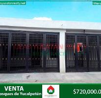 Foto de casa en venta en  , bosques de yucalpeten, mérida, yucatán, 4234512 No. 01