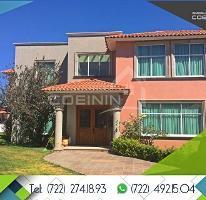 Foto de casa en venta en  , cacalomacán, toluca, méxico, 4235434 No. 01