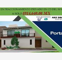 Foto de casa en venta en calle 1, ciudad del sol, querétaro, querétaro, 0 No. 01