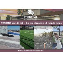 Foto de terreno habitacional en venta en calle cedro , el pueblito centro, corregidora, querétaro, 2828501 No. 01