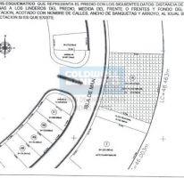 Foto de terreno habitacional en venta en calle isla de man, parque victoria, lomas de angelópolis ii, san andrés cholula, puebla, 756271 no 01