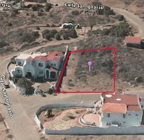 Foto de terreno habitacional en venta en calle san ignacio 0, cíbolas del mar, ensenada, baja california, 2129941 No. 01