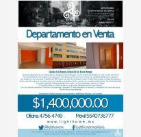 Foto de departamento en venta en calzada de la romeria 75, colina del sur, álvaro obregón, df, 1595616 no 01