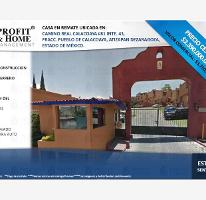 Foto de casa en venta en camino real de calacoaya 1, calacoaya, atizapán de zaragoza, méxico, 0 No. 01