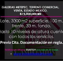 Foto de terreno habitacional en venta en  , campestre metepec, metepec, méxico, 3795039 No. 01