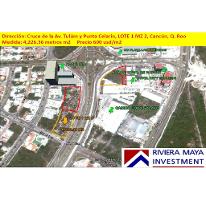 Foto de terreno comercial en venta en, cancún centro, benito juárez, quintana roo, 1128823 no 01