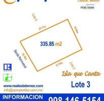 Foto de terreno habitacional en venta en, cancún centro, benito juárez, quintana roo, 2017600 no 01