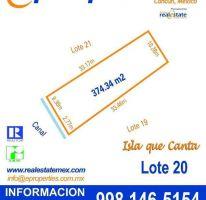 Foto de terreno habitacional en venta en, cancún centro, benito juárez, quintana roo, 2037226 no 01