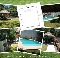 Foto de terreno habitacional en venta en  , cancún centro, benito juárez, quintana roo, 4348520 No. 01